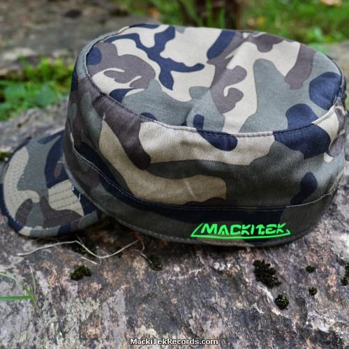 Casquette Reglable Camouflage MackiTek 1 Green