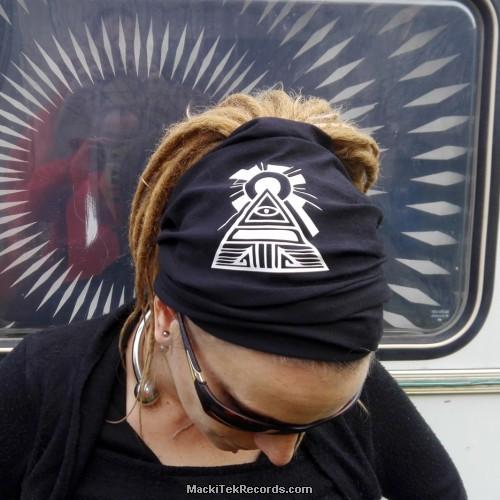 Bandeau Noir MackiTek Solar Pyramid