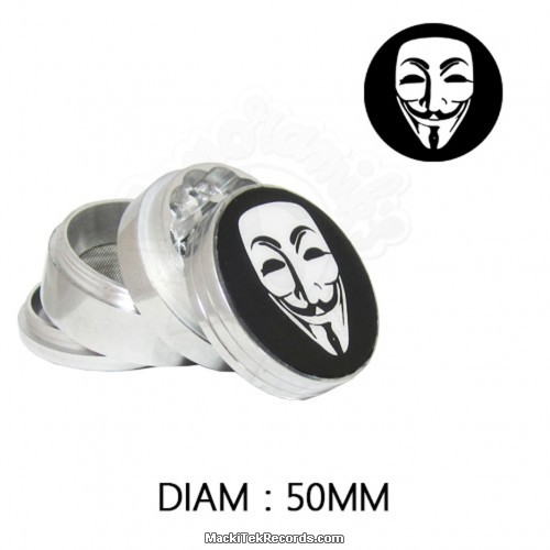Grinder Alu Anonymous 50mm