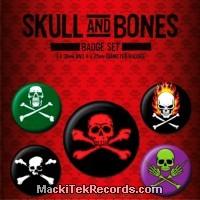 x5 Badges Skull Bones