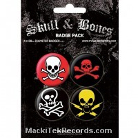 x4 Badges Skull2