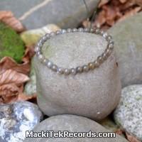 Bracelet Labradorite boules 6mm