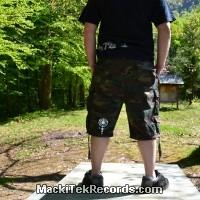 Short XL Camouflage MackiTek 1