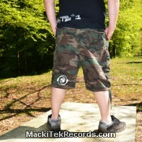 Short XL Camouflage MackiTek 2