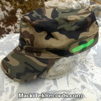 Casquette Reglable Camouflage MackiTek 4 Green
