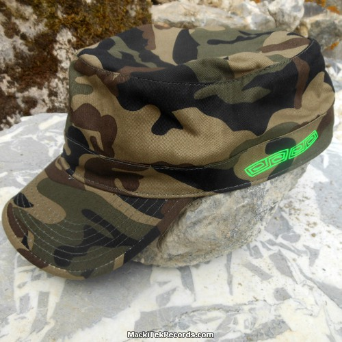 Casquette Reglable Camouflage MackiTek 4 Green