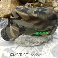 Casquette Reglable Camouflage MackiTek 3 Green