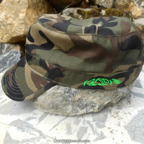 Casquette Reglable Camouflage MackiTek 3 Green