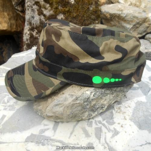 Casquette Reglable Camouflage MackiTek 7 Green