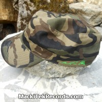 Casquette Reglable Camouflage MackiTek 9 Green