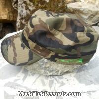 Casquette Reglable Camouflage MackiTek 9 Green