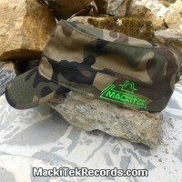 Casquette Reglable Camouflage MackiTek 2 Green