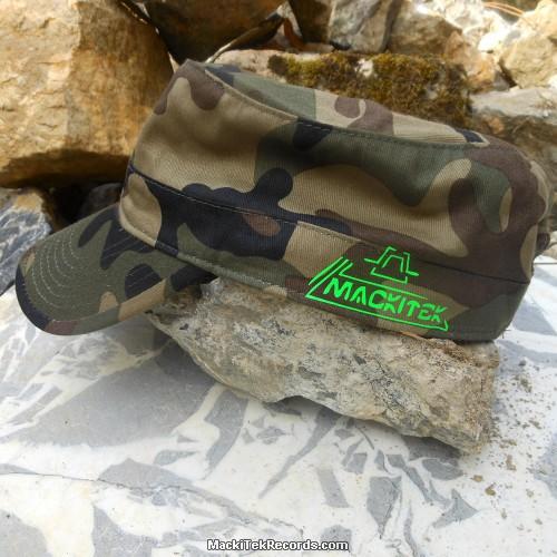 Casquette Reglable Camouflage MackiTek 2 Green