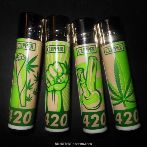 x4 Briquet Clipper CC 420 Weed