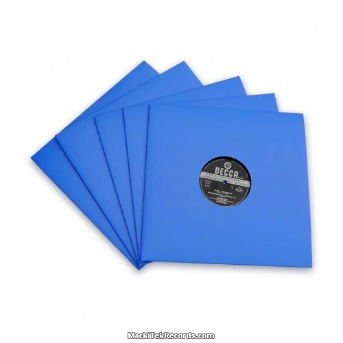 x5 Pochettes Bleu 12 Inches