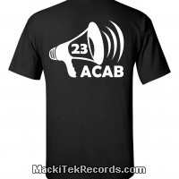 T-Shirt Noir ACAB23