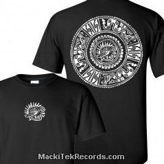 T-Shirt Noir Ancient Symbol 1