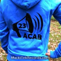 Sweat Femme Electric Blue ACAB23