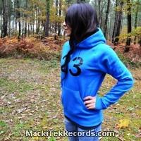 Sweat Femme Electric Blue MackiTek 23