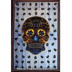 Tenture Mexican Skull TES105