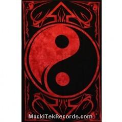 Tenture Yin Yang Tes130 Rouge