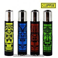 x4 Briquet Clipper GM Tikis