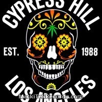T-Shirt Cypress Hill Flower Skull