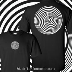T-Shirt Noir Vortex V3