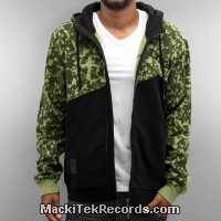Veste Zip DNGRS LTD Camouflage
