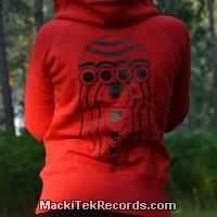 Veste Zip Rouge L Octopus