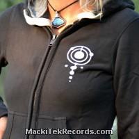 Veste Zip Dark Grey MackiTek Crop Circle 03