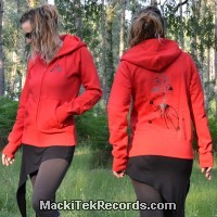 Zip Jacket Red L MackiTek UFO