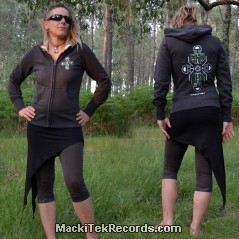 Veste Zip Dark Grey MackiTek Totem Metal