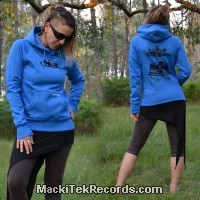 Sweat Femme Electric Blue Underground