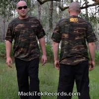 T-shirt Kamo XL MackiTek K7 Jaune