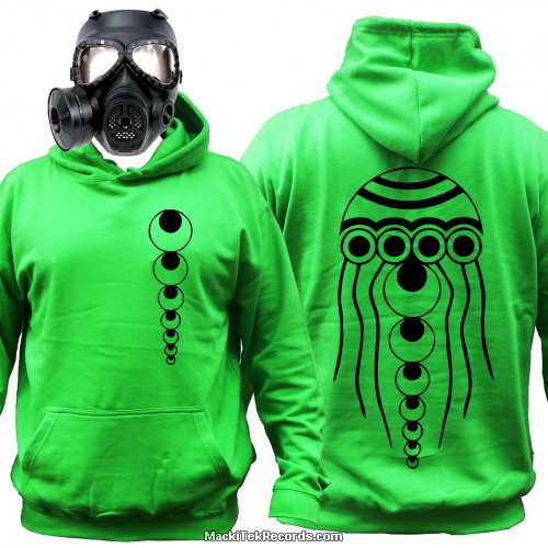 Sweat Alien Green Octopus