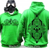 Sweat Alien Green MackiTek Geometrix V2
