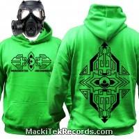 Sweat Alien Green MackiTek Geometrix V2