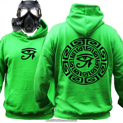 Sweat Alien Green Horus Eye