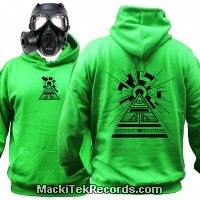 Sweat Alien Green Solar Pyramid