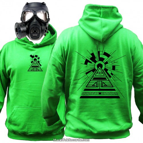 Sweat Alien Green Solar Pyramid