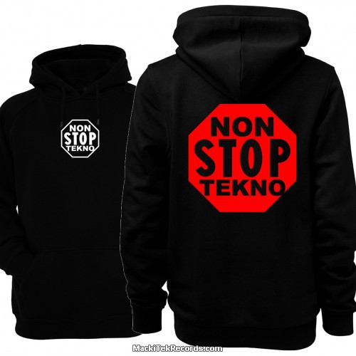 Sweat Noir Non Stop Tekno