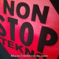 T-Shirt Black Non Stop Tekno
