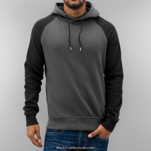 Sweat Uni Grey Black