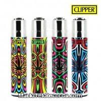 x4 Briquet Clipper Weed Psychedelik
