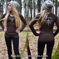 T-Shirt Manches Longues Marron Dark Alchemy 1