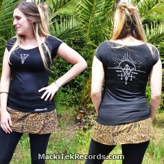 T-Shirt Femme Noir Alchemy 1