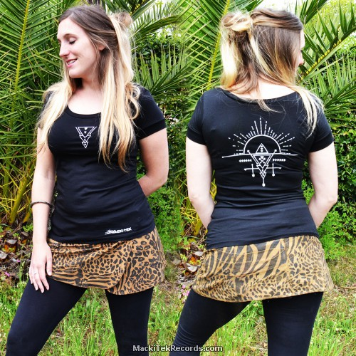 T-Shirt S Noir Femme Alchemy 1