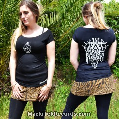 T-Shirt Femme Noir Alchemy 2