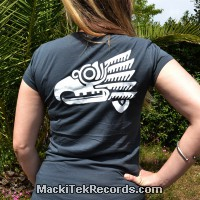 T-Shirt Gris M Femme Ancient Symbol 2